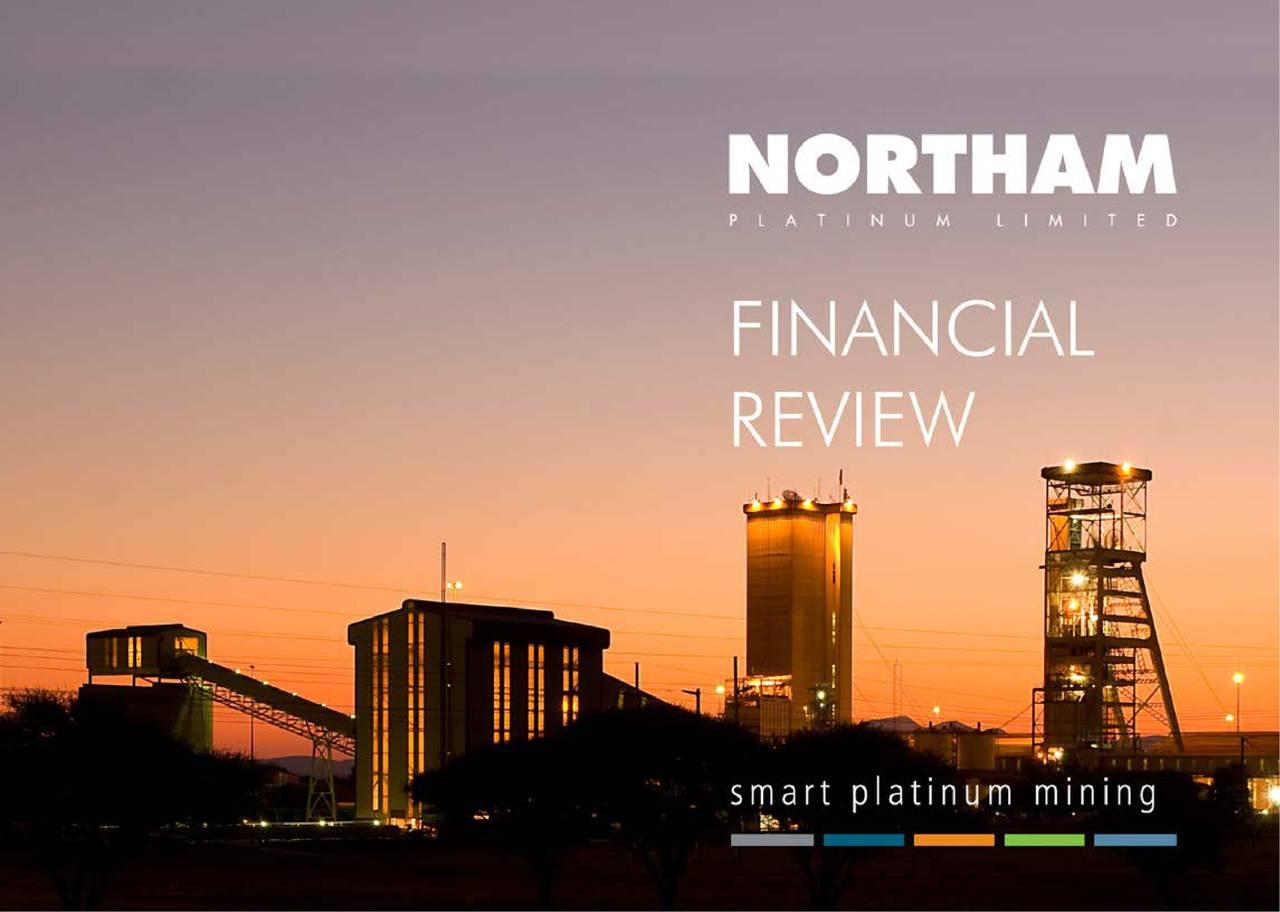 Earnings Disclaimer >> Northam Platinum Property Ltd. ADR 2018 Q4 - Results - Earnings Call Slides - Northam Platinum ...