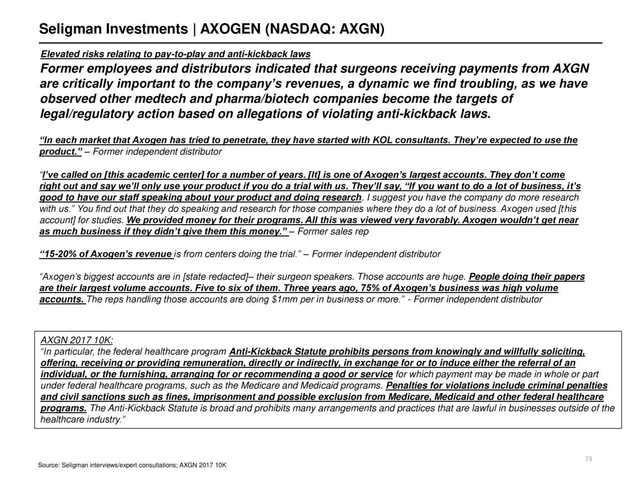 AxoGen: An Overhyped, Cash-Burning Reverse Merger At 12x