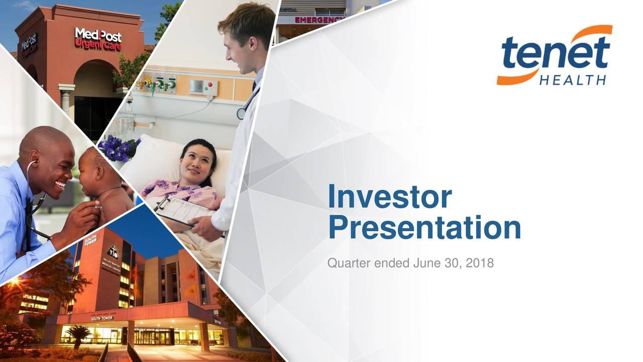 Presentation Quarter ended June 30, 2018