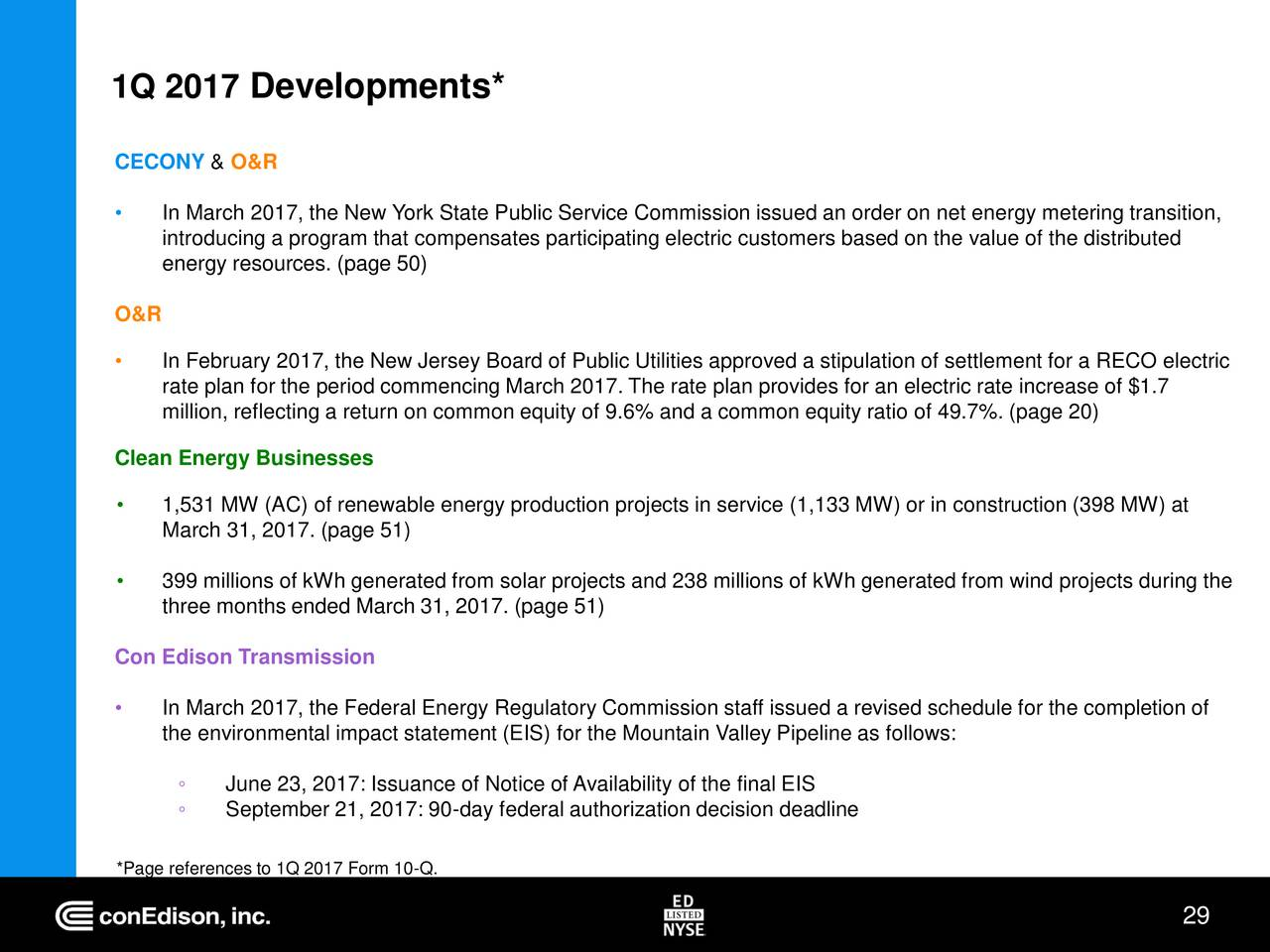 Consolidated Edison Ed Presents At American Gas