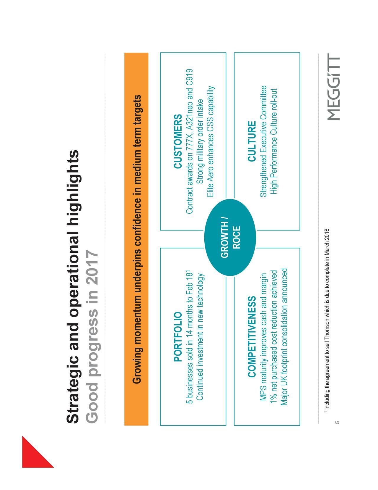 Meggitt consolidating businesses